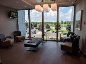 Shared Executive Offices Reception Burlington